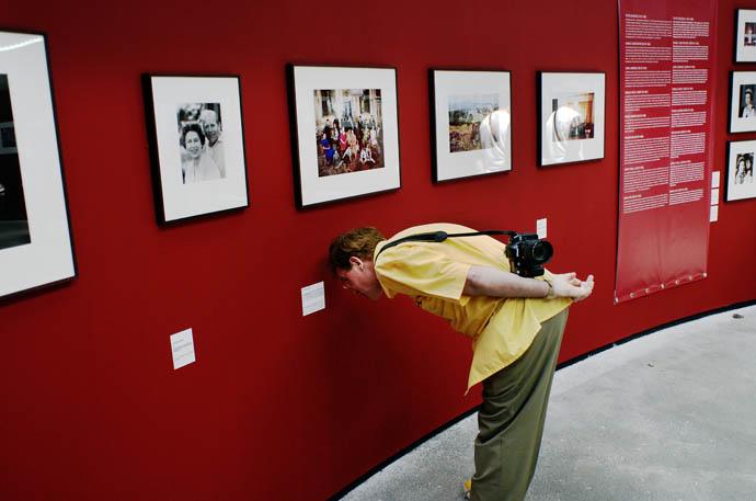 Photo Festival in Arles, France.