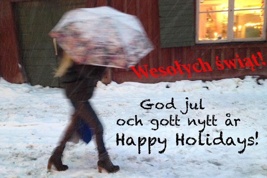 Dags för ett julkort: Södermannagatan i december. Foto: Jurek Holzer