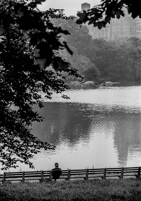 Central Park, New York, 1983. Photo: Jurek Holzer