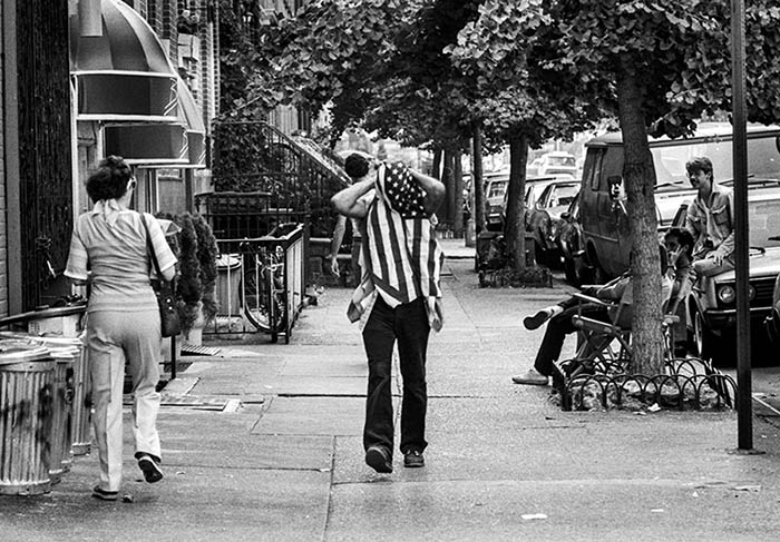 Avenue of Americas, New York, 1983. Photo: Jurek Holzer.