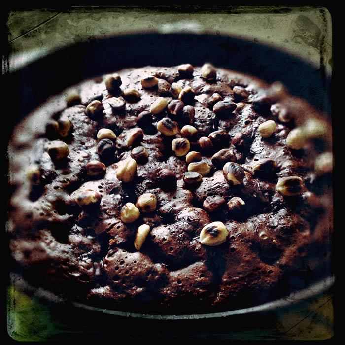 Bränd chokladkaka. Foto: Jurek Holzer