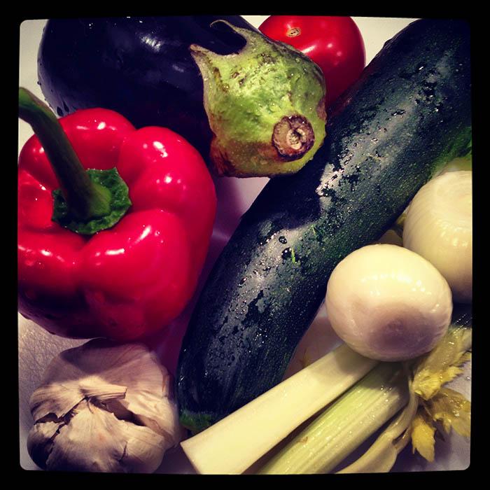 Några av ingredienserna. Foto: Jurek Holzer