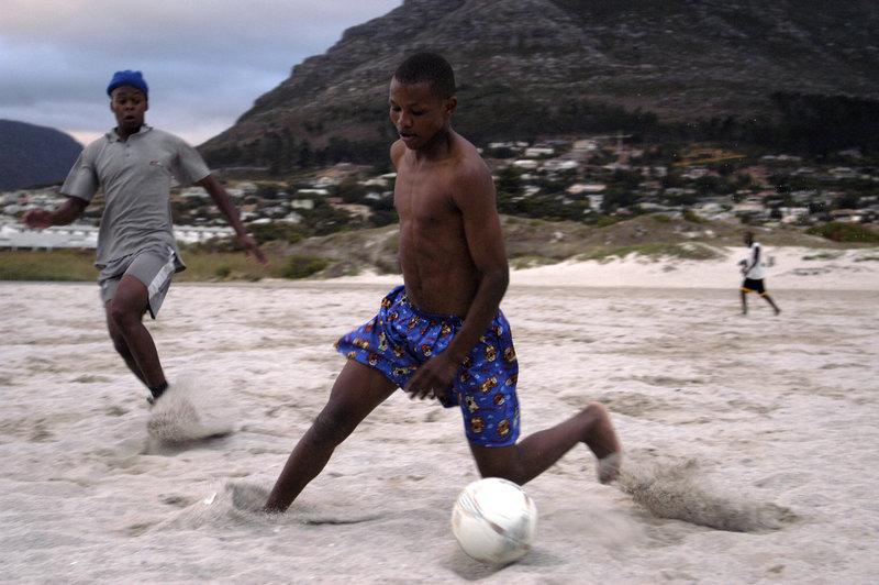 Strandliv i Hout Bay utanför Kapstaden. Foto: Jurek Holzer