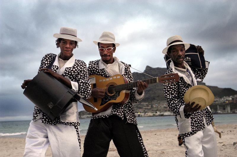 Strandliv i Hout Bay utanför Kapstaden. Foto: Jurek Holzer/SvD
