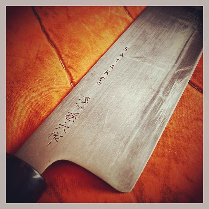 En vass kniv. Foto: Jurek Holzer