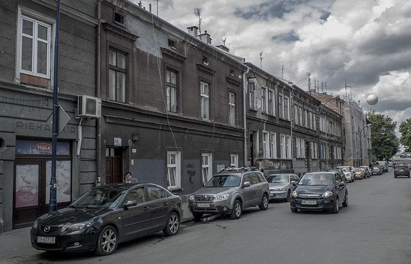 Här på Ulica Długosza 5 bodde mina farföräldrar före kriget.