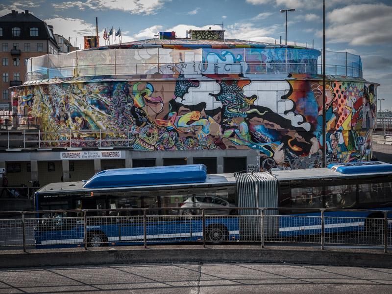 Slussenbussen ©foto: Jurek Holzer/oskarpmask